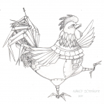 Robotic Rooster sketch