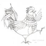 Robotic Rooster sketch